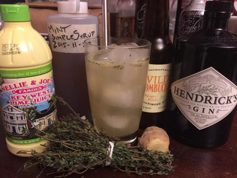 GIN-ger Thyme
