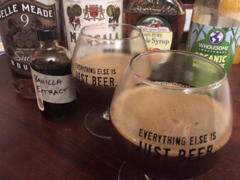 Imperial Stout cocktail