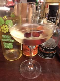 Grape Martini